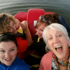 Paddleboating with Perry County!